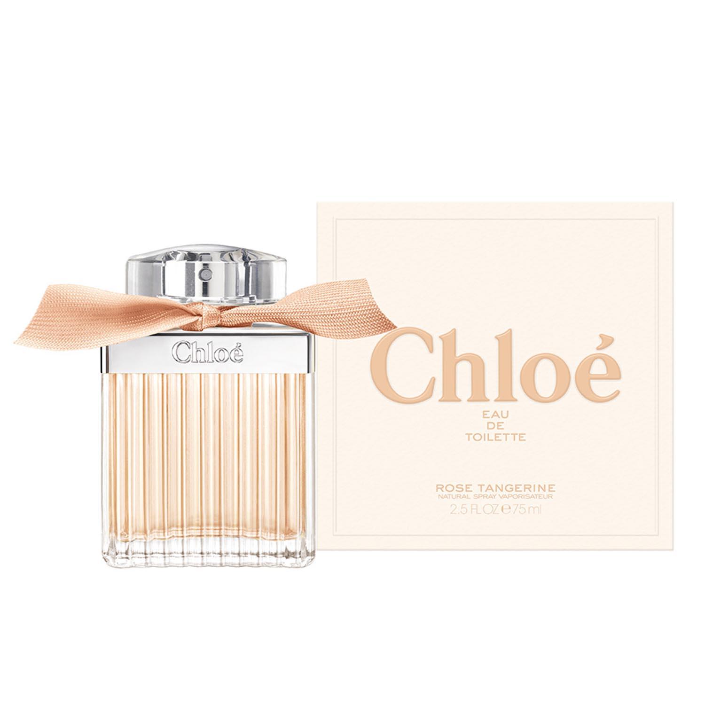 Chloe rose tangerine eau de toilette 75ml vaporizador
