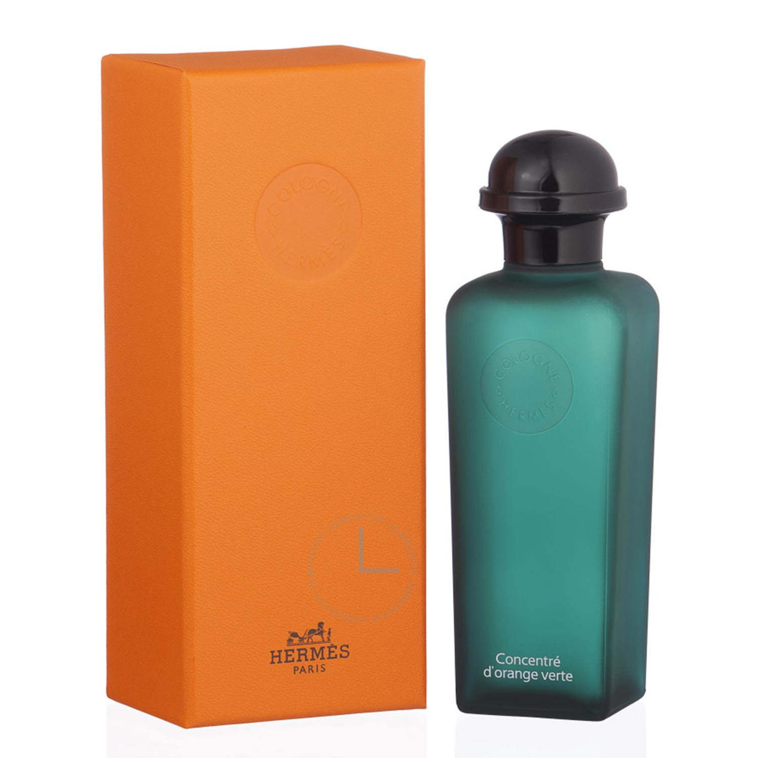 Hermes paris eau d orange verte eau de cologne 50ml refillable vaporizador