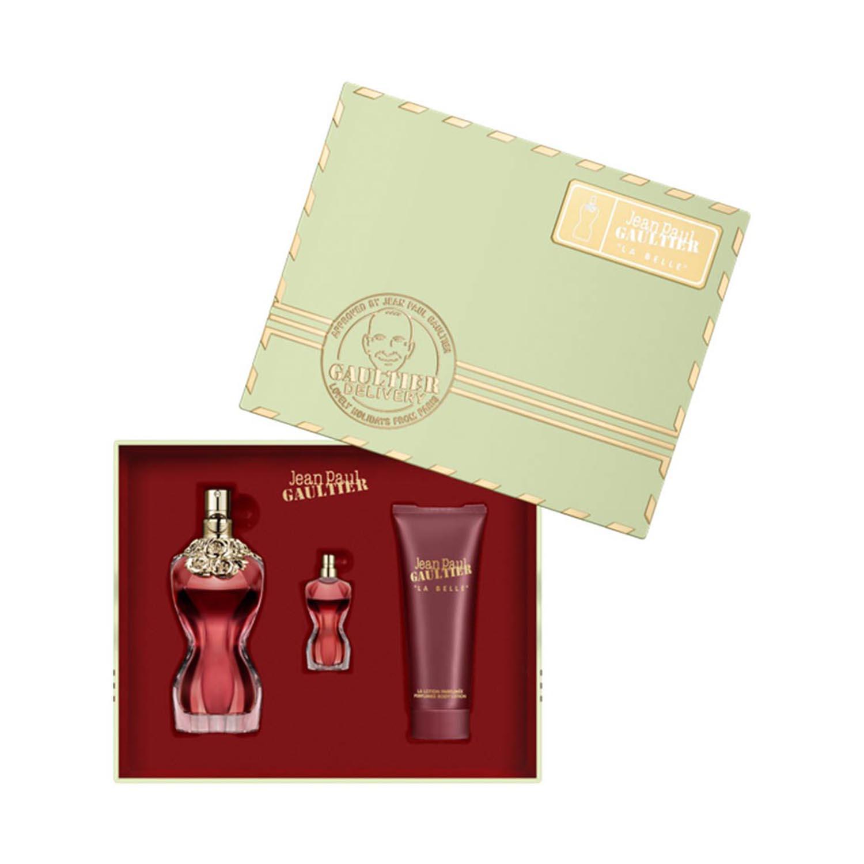 Jean paul gaultier la belle eau de parfum 50ml locion corporal perfumada 75l miniatura 1u  - BellezaMagica.com