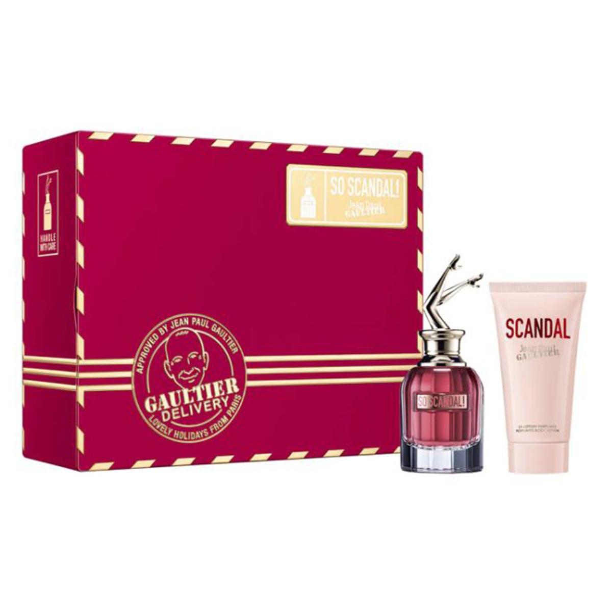 Jean paul gaultier so scandal eau de parfum 50ml locion corporal perfumada 75ml
