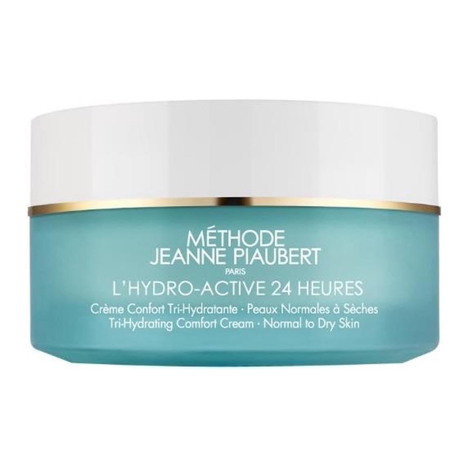 Jeanne piaubert l hydro active 24h moisturizing face cream normal to dry skin 50ml