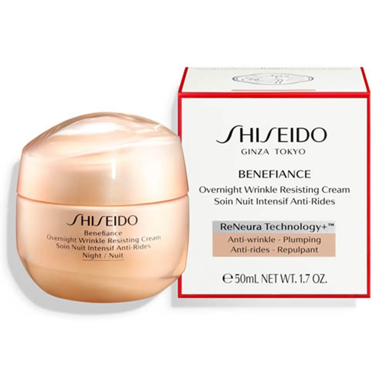 Shiseido benefiance wrinkle resist crema de noche 50ml
